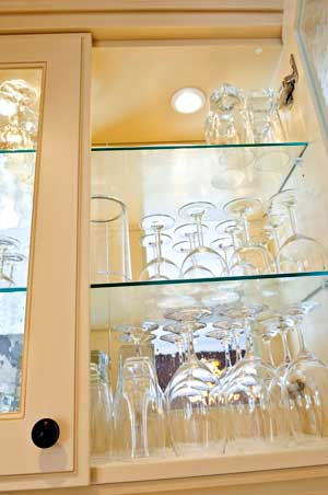 Shelving & Cabinets - Residential Glass