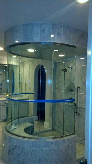 Glass Shower Enclosures & Doors - Residential Glass